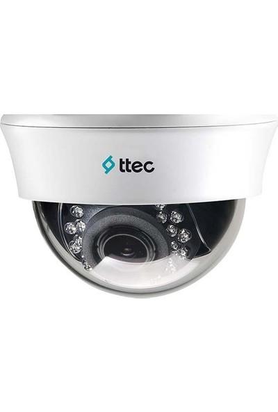 Ttec Cam-Idm1013V Analog Hd 1.3 Mp 2.8-12 Mm Lensli İç Ortam Dome Kamera Dc (12V)