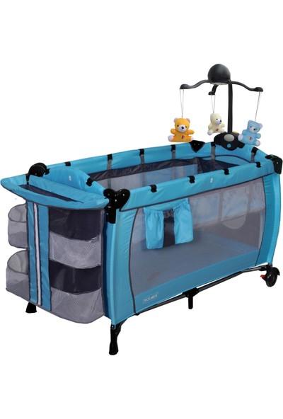 Holmer Kids Maxi Comfort Eurostyle Dönenceli (MP3 Çalar) Oyun Parkı / Park Yatak