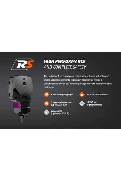 Race Chip Rs Volkswagen Golf VII 2012 Yılı Sonrası 2.0 TSI R (280 HP/ 206 kW) Chip Tuning Seti