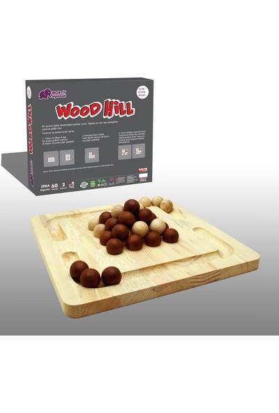 Mor Fil Oyuncak Wood Hill Ahşap Zeka Oyunu