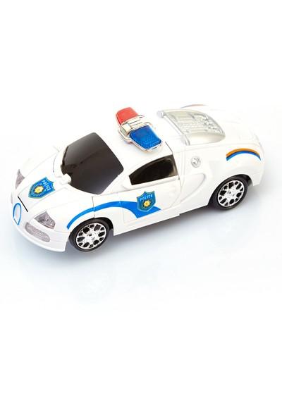 Oyuncak Diyarı Pilli Robota Dönüşen Polis Araba