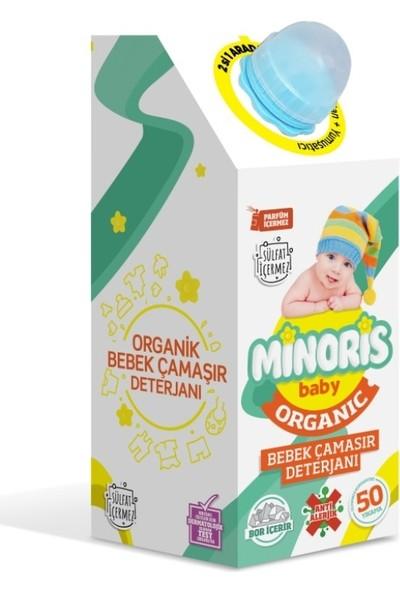 Minoris Baby Organik Antialerjik Bebek Çamaşır Deterjanı Parfümsüz 50 Yıkama
