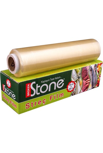 Broken Stone Streç Film 30cmx300m