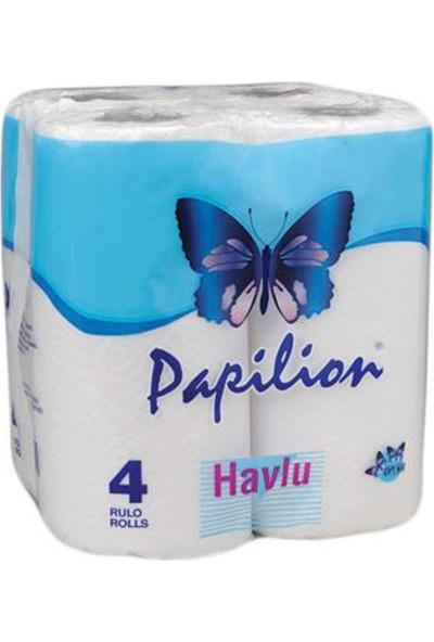 Papilion Kağıt Havlu Ev Tipi 4 Rulo Çift Katlı
