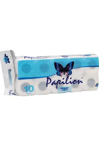 Papilion Tuvalet Kağıdı 10 rulo 2 Katlı