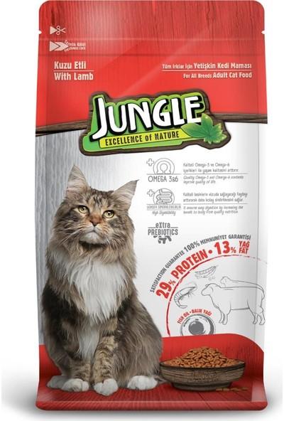 Jungle 15 kg Kuzulu Yetişkin Kedi Maması