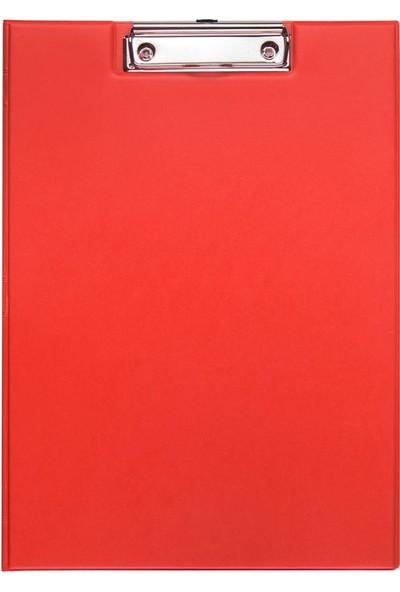 Wole A4 Pvc Kapaklı Sekreterlik Kırmızı