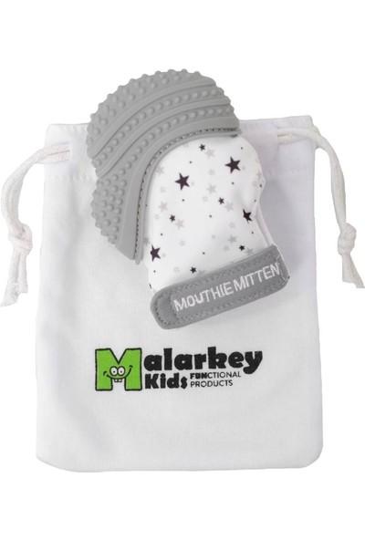 Mouthie Mitten Diş Kaşıyıcı Eldiven - Yıldız Grisi