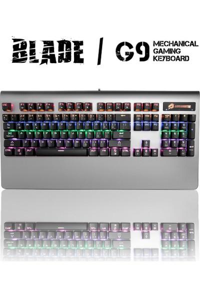 GameBooster G9 Blade RGB Aydınlatmalı Bileklikli Mekanik Klavye (GB-G9)