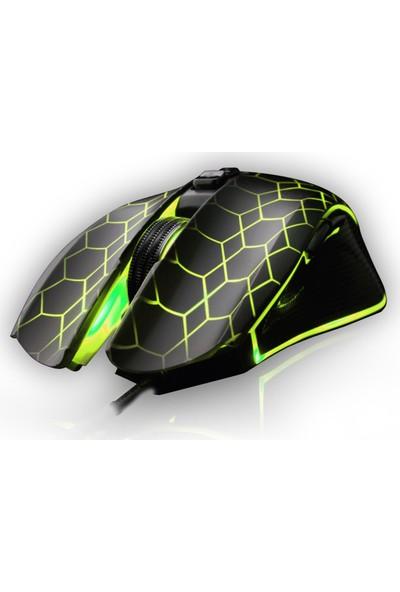 GameBooster M5 Destroyer RGB Aydınlatmalı Profesyonel Oyuncu Mouse (GB-M5)