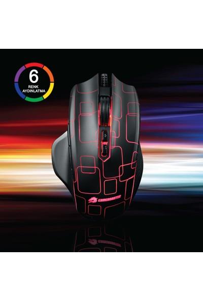 GameBooster M6 Phantom RGB Aydınlatmalı Profesyonel Oyuncu Mouse (GB-M6)