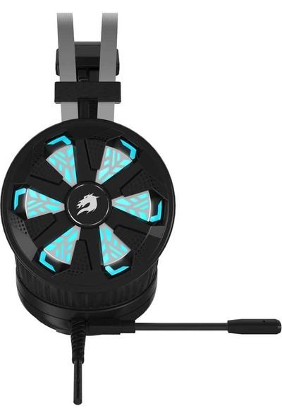 GameBooster Spirit Wheel Rainbow RGB LED Titreşimli 7.1 Siyah Oyuncu Kulaklığı (GB-H7)