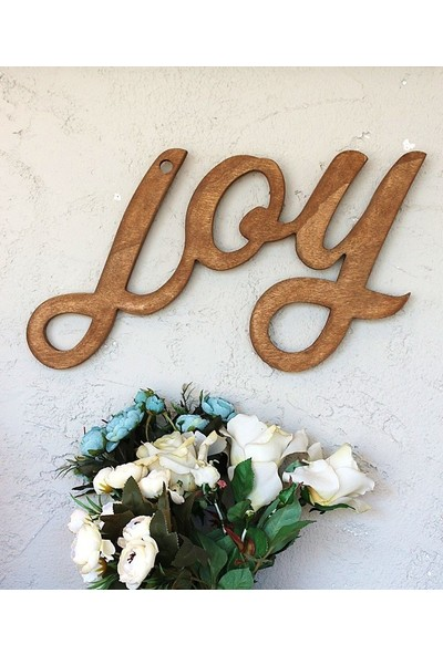 Lamoneta Joy Ceviz Duvar Aksesuarı