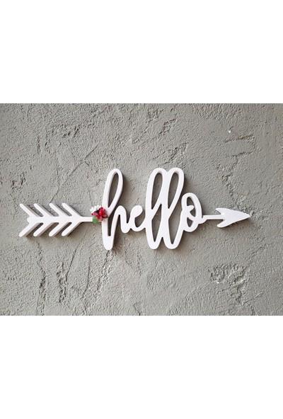 Lamoneta Mini Hello Duvar Aksesuarı