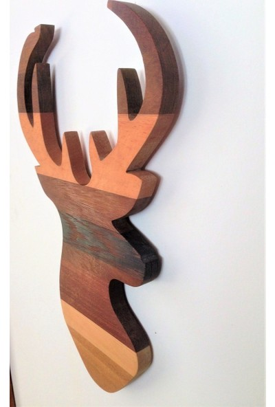 Lamoneta Wood Deer Wall Accessory