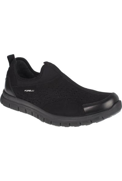 Forelli 45821 Memory Foam Comfort Siyah Erkek Ayakkabı