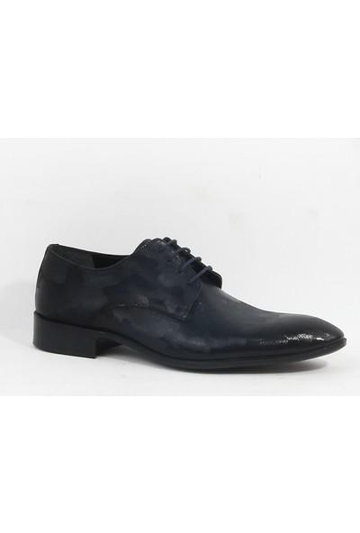 Finety 215 Erkek Rugan Klasik Ayakkabı Lacivert