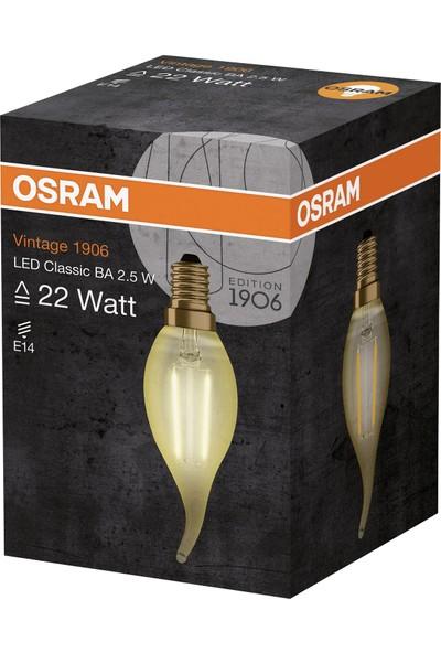 Osram Vintage 1906 Led Classic A Gold 22Watt Non-Dim 2.5W/825 E14