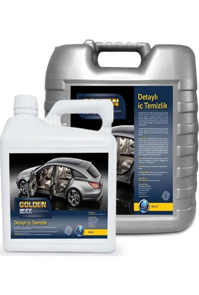Goldenwax Araç İçi Koltuk Temizleyici Genel Leke Sökücü 3Kg Konsantre Ürün