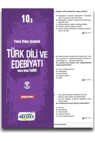 Okyanus 10. Sınıf Türk Dili ve Edebiyatı Yaprak Test
