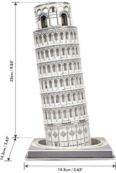 Cubic Fun 27 Parça Puzzle Pisa Kulesi