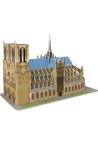 Cubic Fun 53 Parça Puzzle Notre Dame De Paris