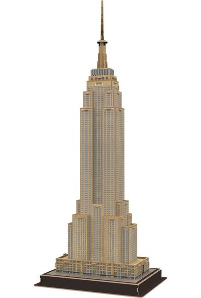 Cubic Fun 54 Parça Puzzle Empire State Binası