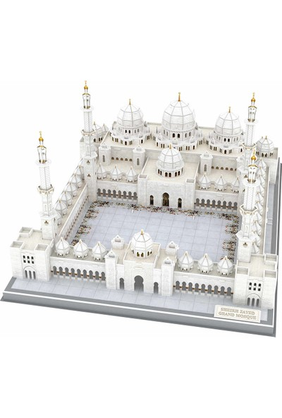 Cubic Fun 357 Parça Puzzle Şeyh Zayed Camii - Bae