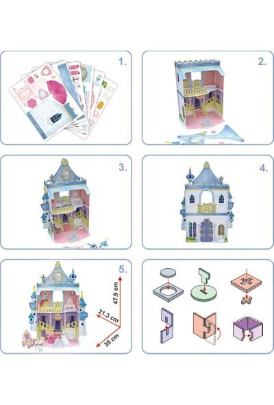 Cubic Fun 81 Parça Puzzle Fairytale Castle