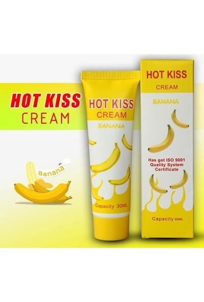 Hot Kiss Muz Aromalı Kayganlaştırıcı Jel 30 ml