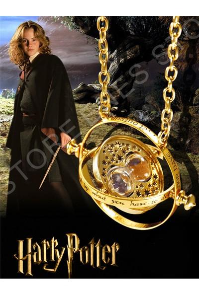 Enes Store Harry Potter Time Turner Kum Saati Kolye