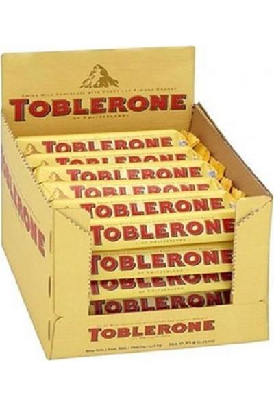 Toblerone Sütlü 100gr 20' li 1 Kutu