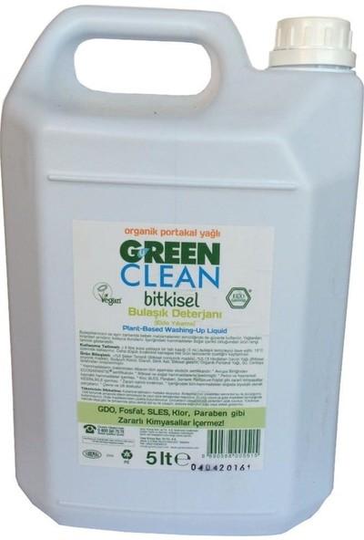 U Green Clean Organik Elde Bulaşık Deterjanı 5000 ml