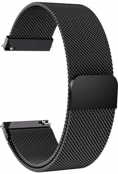Markacase Samsung Galaxy Watch 46 mm İçin Milanese Mıknatıslı Kordon