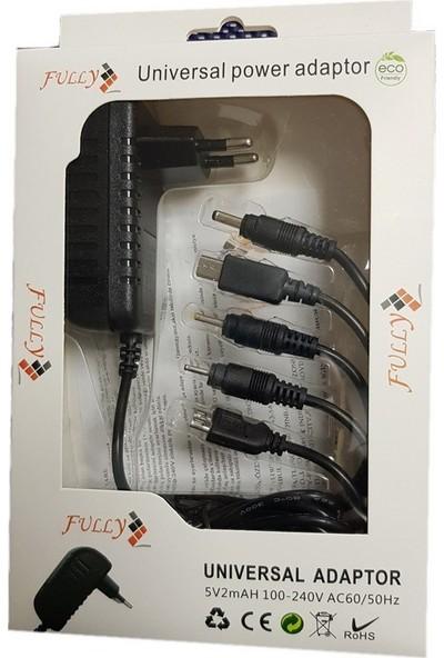 Fully 5Volt 2Amper Universal Adaptör 6 Uçlu