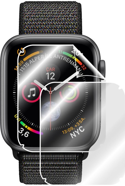 IPG Apple Watch Series 4 (44 mm) Akıllı Ekran Koruyucu ( 2 Adet)