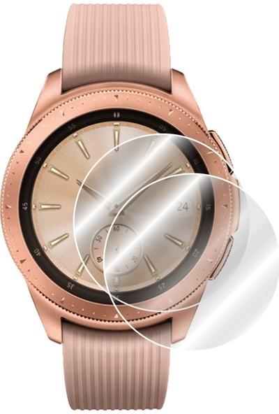 IPG Samsung Galaxy Watch (42mm) Rosegold & Midnight Black Akıllı Ekran Koruyucu (2 Adet)