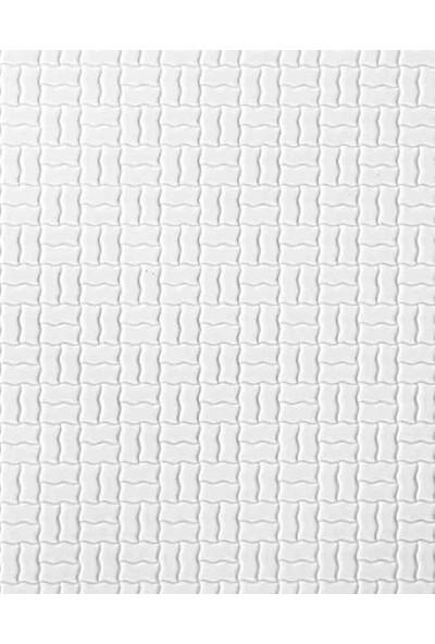 Eshel Maket ABS Kabartmalı Duvar Büyük Örgü Desenli 1/50