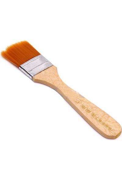 Hobi24 Turuncu Kıl Zemin Fırçası - N:8