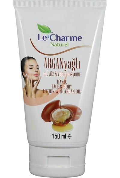Le Charme Naturel Argan Yağlı El Yüz Ve Vücut Losyonu