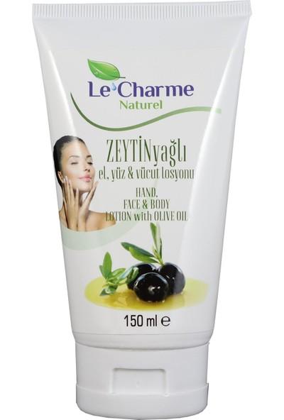 Le Charme Naturel Zeytin Yağlı El Yüz Ve Vücut Losyonu