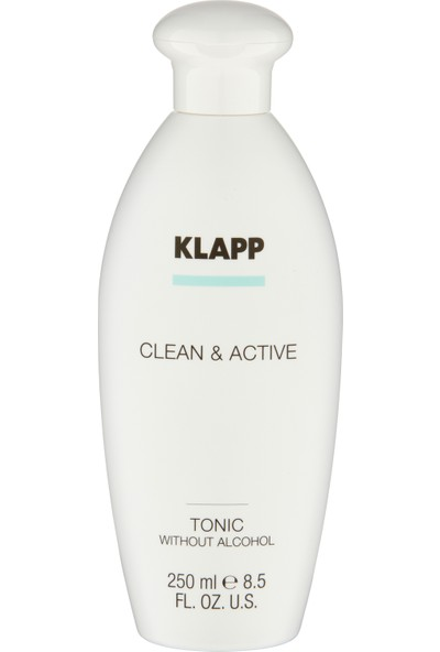 KLAPP CLEAN&ACTIVE ALKOLSÜZ TONIK 250ML