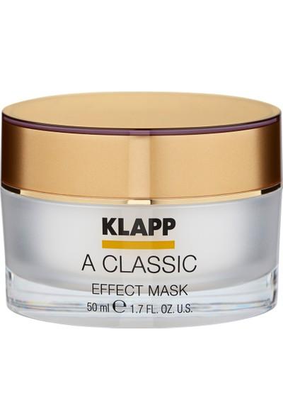 A Classic Effect Mask 50 ml - Olgun Dönem (40 +) Stress Altındaki Derinin Nemini Sağlayan Lifting Etkili Bakım Maskesi