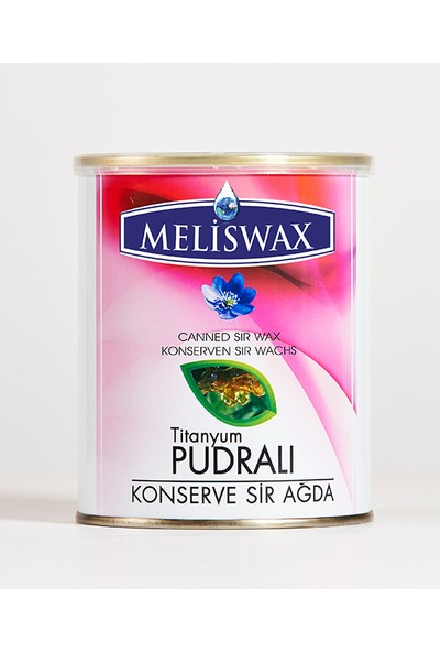Meliswax Pudralı Konserve Ağda 800 ml
