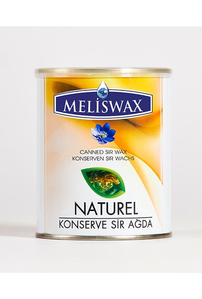 Meliswax Naturel Konserve Ağda 800 ml