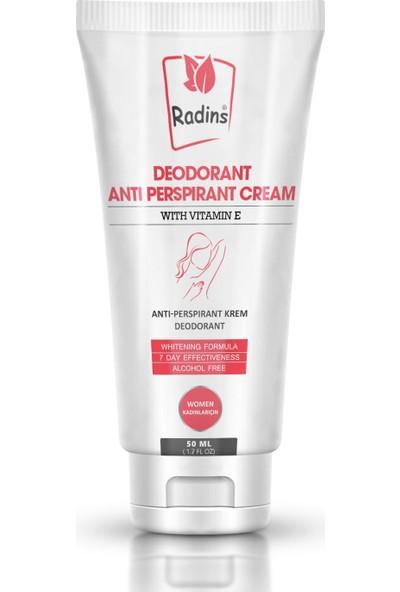 Radins Deodorant Kremi Kadınlar 50 ml