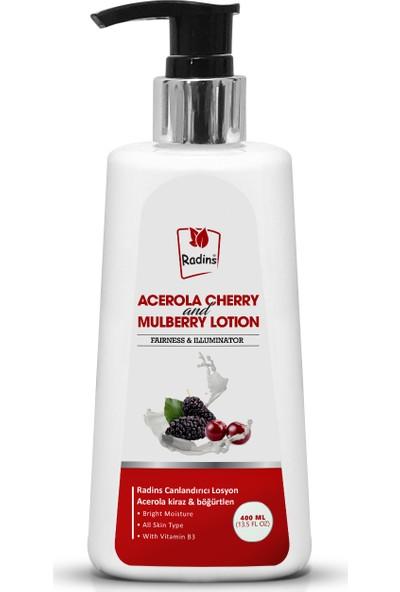 Radins Acerola Kıraz Ve Böğürtlen Vücut Losyonu 400 ml