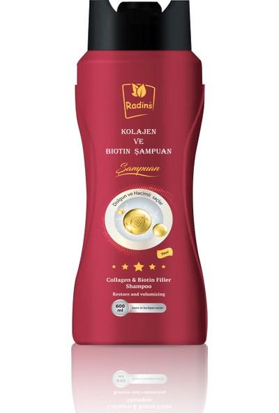 Radins Kolajen Ve Biotin Şampuanı 600 ml