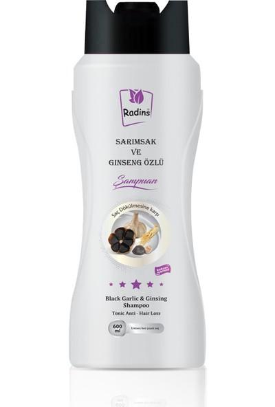 Radins Sarımsak Ve Ginseng Özlü Şampuanı 600 ml
