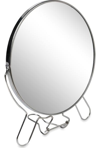 Makyaj Aynası Oval Çift Taraflı Büyüteçli 7 İnç